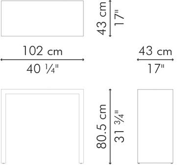 バーテーブル スモール LINK サイズ