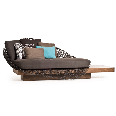 NOODLE - LOVESEAT with PLATFORM