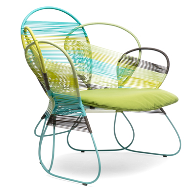 TRAME - EASY ARMCHAIR