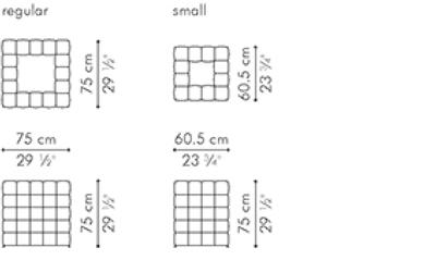 ダイニングテーブル スクエアタイプ YIN & YANG サイズ
