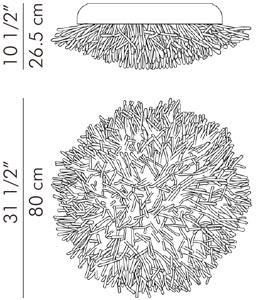 ウォールランプ 屋外用 ANEMONE / hive サイズ