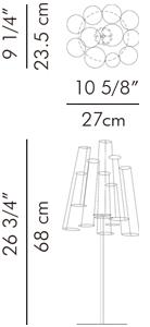 テーブルベース 花瓶 CROKKIS / hive サイズ