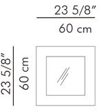 スクエアミラー C-U C-ME / hive サイズ