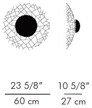 ウォールランプ KRIS KROS / hive サイズ